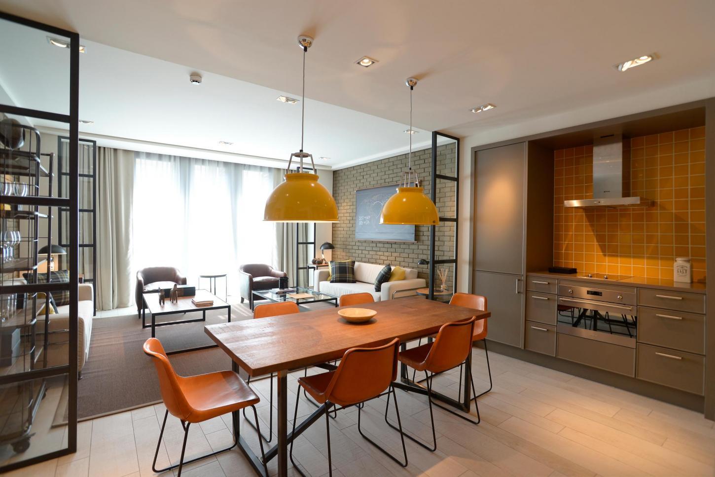 ... Kitchen Midtown Apartments 3 ...
