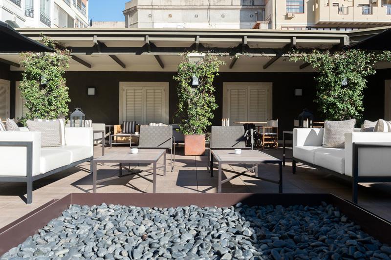 La terraza del hotel granv a en barcelona for La terraza barcelona