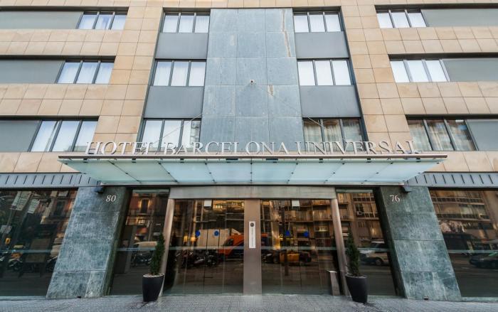 Fachada - Hotel Barcelona Universal