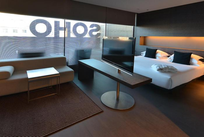 hotel soho terrace room
