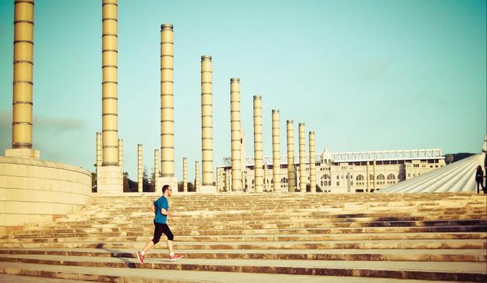 Running Barcelona