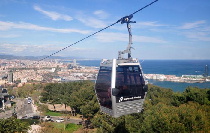 Teleferico Barcelona Montjuic