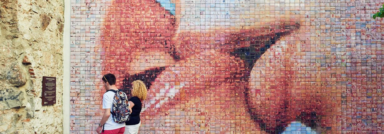 Mural del Beso