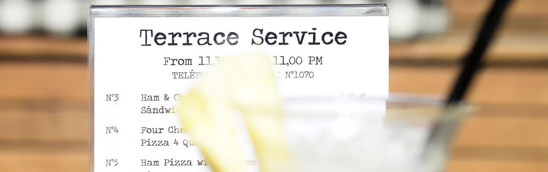 Terrace Service