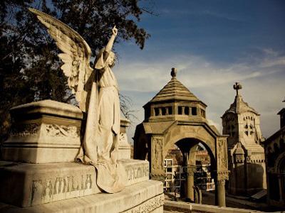 Cementerio en Montjuïc