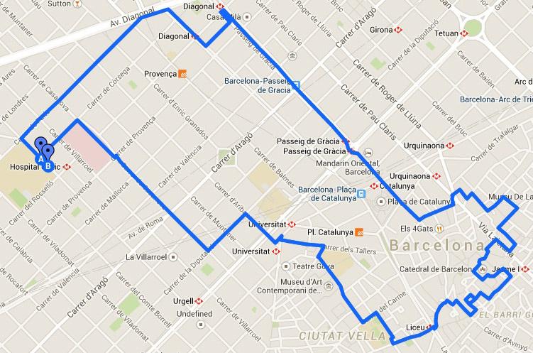 Running Route U232