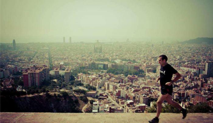 running_barcelona