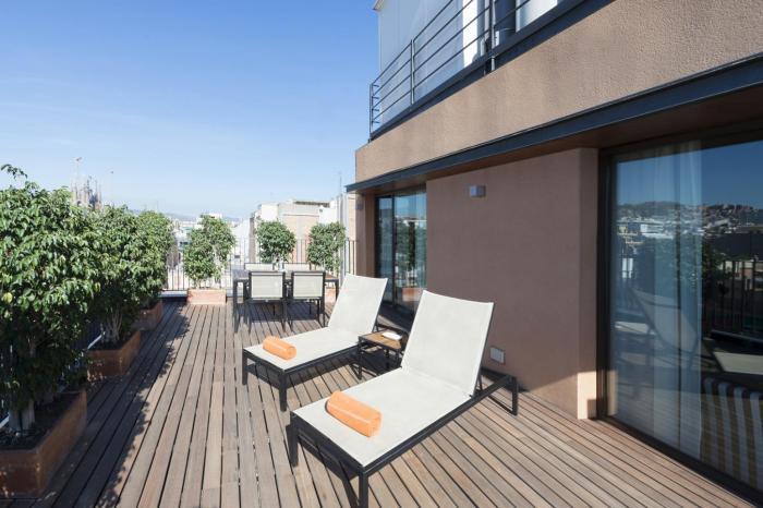 Terrace - Penthouse Sagrada Familia